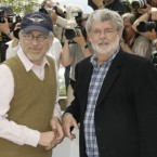 Director Steven Spielberg, (L), and producer George Lucas hold a fortune of .25bn between them. Lucas is at #97 with .25bn and Spielberg is ranked 110th with bn.