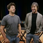 Google co-founders Sergey Brin (L) and Larry Page (R) come in at 12th and 11th respectively, with bn apiece.
