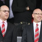 Manchester United owner Malcolm Glazer and his family (sons Joel (R) and Avram Glazer pictured here) are collectively believed to have a fortune of .6bn, putting them in #136.