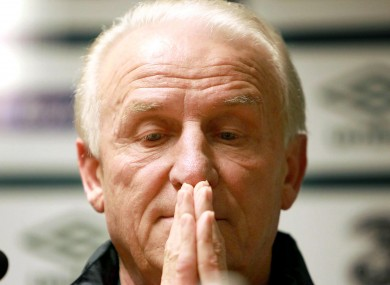 It's not just Trapattoni who's hoping for an improved performance tonight.
