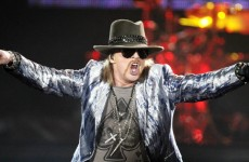 Axl Rose v Guitar Hero