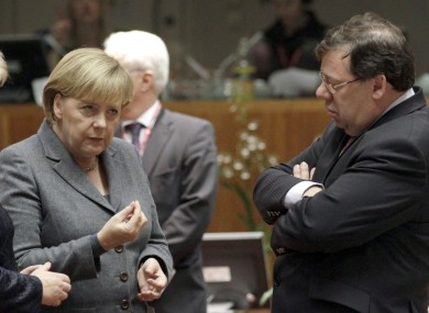 Angela Merkel fears Germany's Constitutional Court will declare the current European bailout mechanisms invalid and wants a permanent one created quickly.