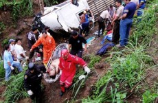 At least 35 killed after Ecuador bus falls 1,100 feet