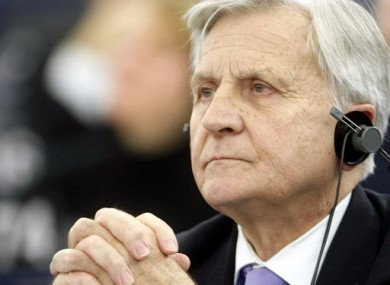 European Central Bank president, Jean Claude Trichet