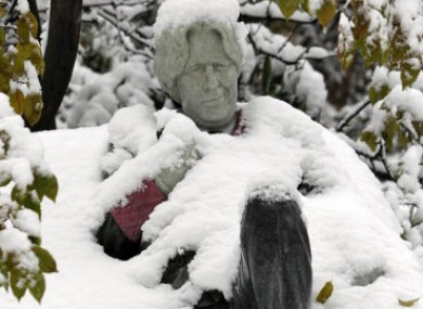 Oscar Wilde spent a cold night in Merrion Square Park - he must have missed the last bus home