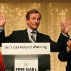 The Fine Gael leader was one of FOUR Fine Gael TDs to make it home in Mayo - and was the national polltopper in individual terms. Though one other candidate beat him in terms of quotas, Kenny's 17472 first preferences (1.413 quotas) were more than anyone else in the country could boast.