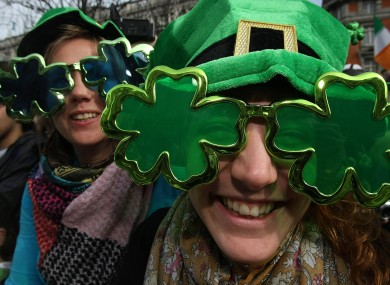 You'll be seeing green at some famous attractions on St Patrick's Day