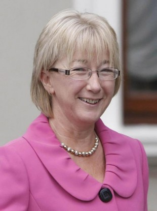 Minister Mary Hanafin, who says she is not rushing through the 'three strikes' legislation tomorrow