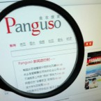 A Chinese internet user browses the new internet search engine Panguso.com launched by China Mobile and Chinas state-run Xinhua News Agency. Pic: PA Images/Xie zhengyi.