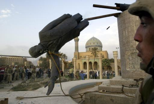 Toppling of Saddam