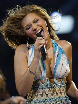 Beyoncé is said to have performed for Gaddafi in 2009 (file photo)