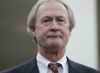 Rhode Island Governor Lincoln Chafee, who favours the pardon.