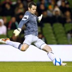 First-choice goalkeeper Shay Given was ruled out of action for three months after dislocating his shoulder in February.
