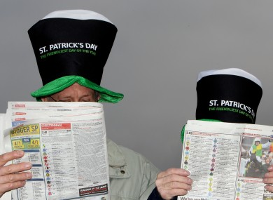 These lads would have been better off checking out TheScore.ie for tips on yesterday's card.