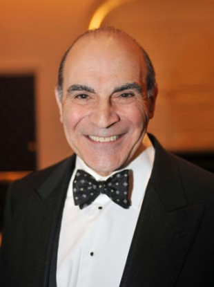 David Suchet has played Hercule Poirot on the small screen for over two decades.