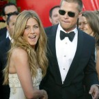 Brad Pitt with his wife Jennifer Aniston had a high-profile romance, culminating in a 114121 million wedding. In their vows,Brad vowed to split the difference on the thermostat, and Jennifer promised to always make his favorite banana milkshake. The promises weren't enough however, and the couple split five years later.