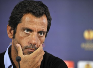 Quique Sanchez Flores: popular manager will not renew contract.