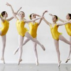 These dancers from the Irish National Youth Ballet Company are like a host of golden daffodils as they rehearse for their 15th anniversary celebration next week. Pic: Niall Carson