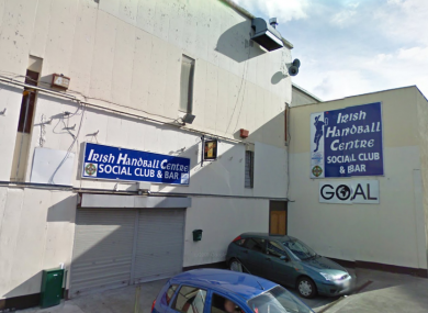 The Irish Handball Centre beside Croke Park, which is planned for redevelopment against the wishes of local residents.