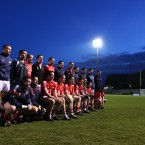 The Rebels line up for last season's National Football League game in Pairc Ui Rinn. Cork won the game by 2-13 to 2-6.