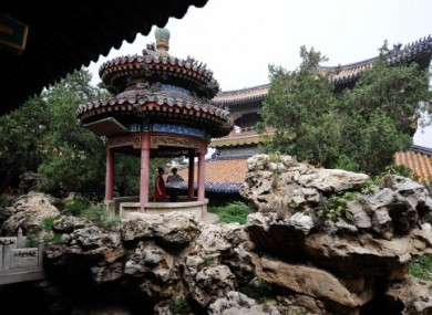 File photo of a pavillion inside the Forbidden City.