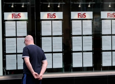 People going through FÁS training programmes are more likely to find work - but those going through the National Employment Action Plan are 17 per cent less likely to find a job.