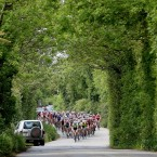 The riders make their way to Skerries.