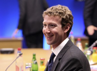 Zuckerberg was in Deauville, France yesterday to brief Obama, Cameron, Merkel and co on internet issues. Dublin was his next stop