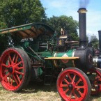Pretty steam engine at the Innishannon Steam & Vintage Rally in Cork.