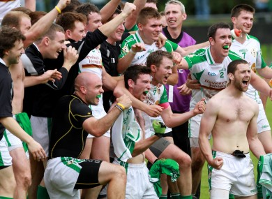 London celebrate their win over Fermanagh
