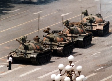 The pro-democracy demonstrations of Tiananmen Square were quashed by government forces 22 years ago today.