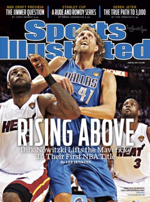 This week's original SI cover.