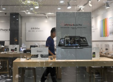 An Apple store in China that's not really an Apple store.