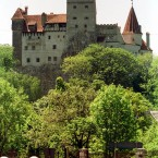 Bran Castle, Romania - €95million. Also known as Dracula's Castle, it has secret passageways and was briefly occupied by Vlad the Impaler. (AP Photo/Eugeniu Salabasev)
