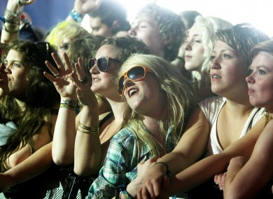 Crowds at Oxegen 2010
