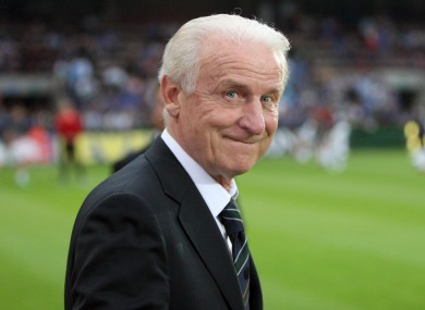 Giovanni Trapattoni: Irish side flying high in group.