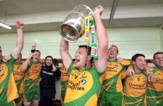 WATCH: Donegal's Kevin Cassidy leads the homecoming celebrations