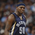 Zach Randolph was arrested for DUI on 6 April 2009.