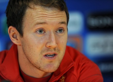 McGeady has made 40 appearances for Ireland.