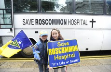 Sit-in underway at Roscommon County Hospital