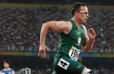 Pistorius causing a stir at Worlds