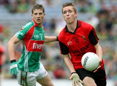 Mooney in action for the Down minors.