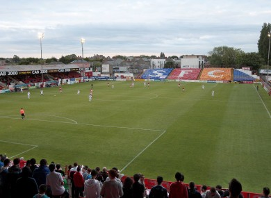 Tolka Park, where Sheriff beat Shelbourne 3-2 on Friday night (file photo).