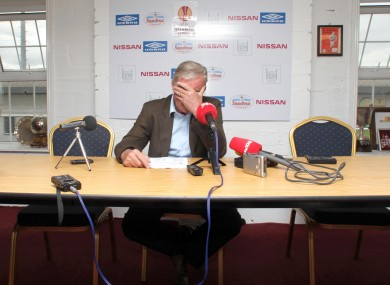 Pete Mahon today. 