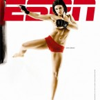 MMA star Gina Carano posed for the ESPN body issue.