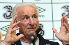 Trapattoni focuses on positives following Slovakia game