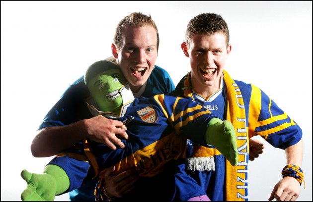 PJ Hanrahan and Will Kennedy with the Tipp Hulk 4/9/2011