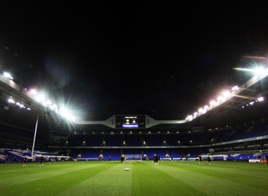 Rovers trained in White Hart Lane last night ahead of this evening's tie.
