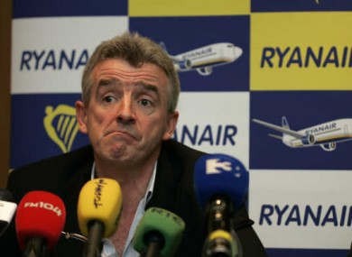Michael O'Leary slams Shannon Airport Authority in a letter to Clare County Council