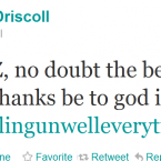 Brian O'Driscoll admits the World Cup does not make for pleasant viewing.